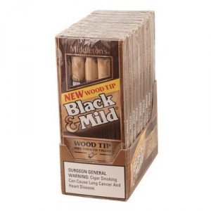 Black & Mild Wood Tip Packs