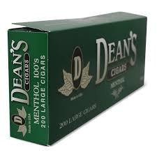 Dean's Filtered Cigars Menthol