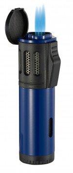 Artemis Triple Flame Torch Lighter Blue