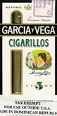 Garcia y Vega Cigarillos Pack