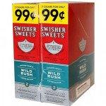 Swisher Sweets Cigarillos Wild Rush