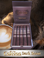 The House of Lucky Cigar Cafeina Box Press Dark Roast Corona