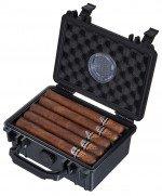 Visol Rider Hard Plastic Travel Cigar Humidor