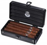 Visol Setke Black Travel Cigar Case